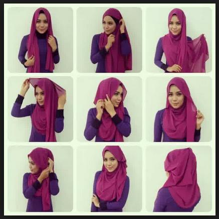 Petunjuk Lengkap Cara Memakai Hijab Busana Muslimah Modern